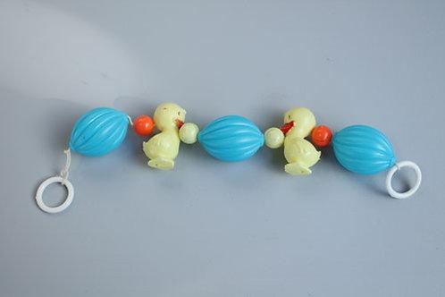 jouet de poussette canards et grelots
