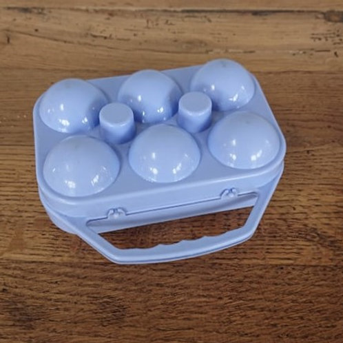 Petite boîte à oeufs lavande