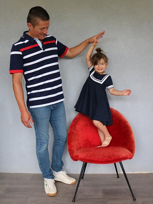 Chaise gondole 60's en moumoute