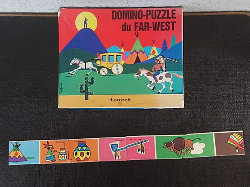 domino puzzle du far-west