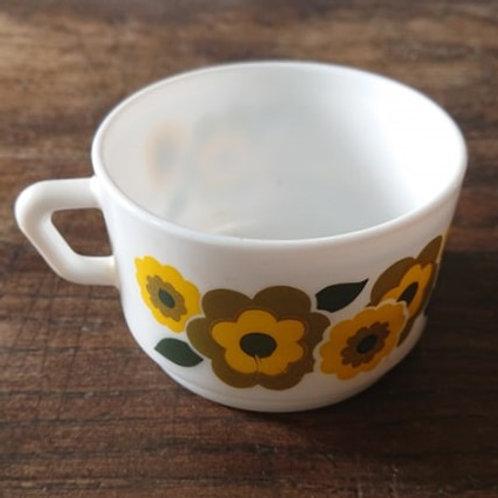 Tasse à chocolat lotus jaune