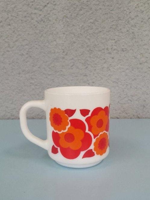 Mug lotus rouge