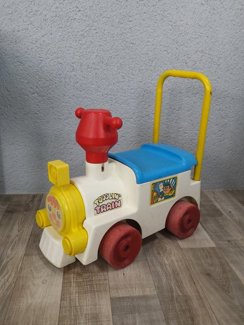 Toddlin Train Tomy Perlesdechine