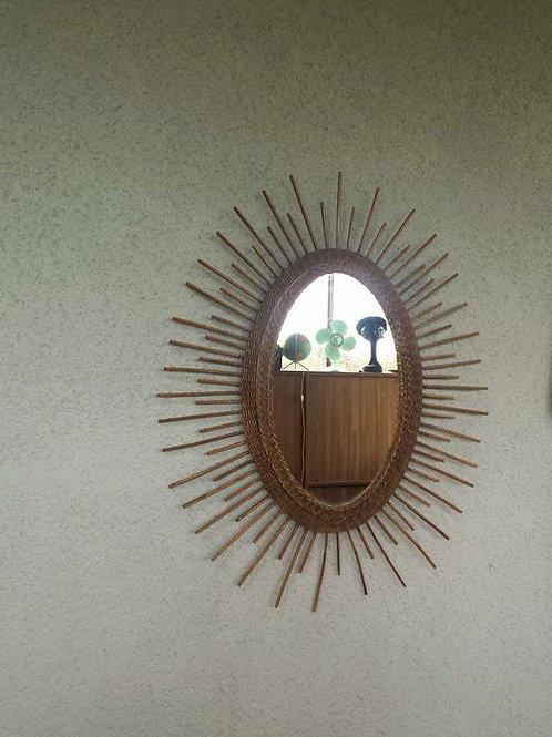 Miroir soleil ovale