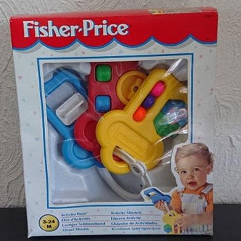 Activity Keys Fisher Price 1996