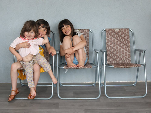 Chaise de camping 70's