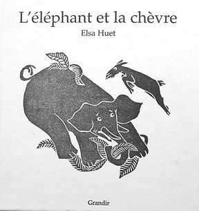 L'éléphant et la chèvre .jpg