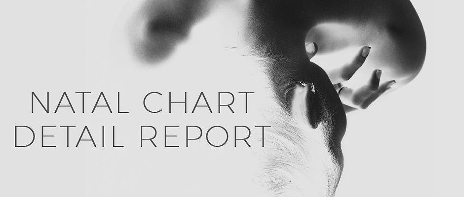 Natal Chart Detail Report