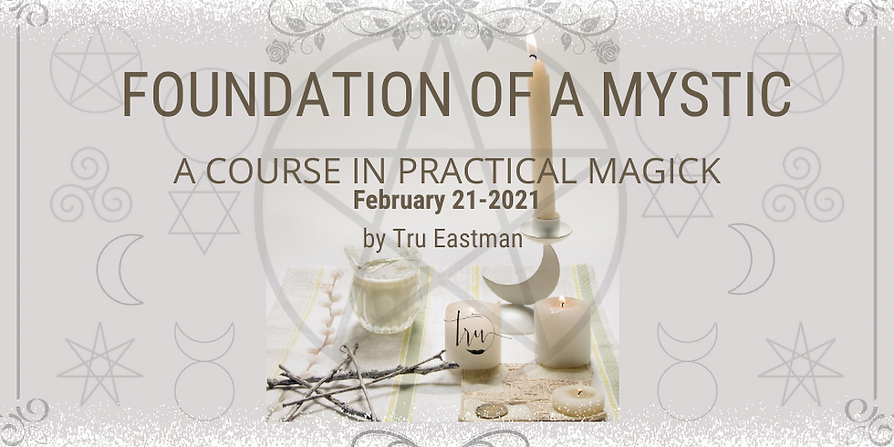 Foundation of A Mystic- Creating Your Sacred Space