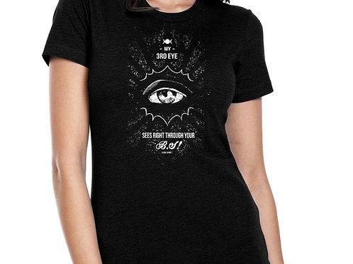 Womens Tshirt Black- BS