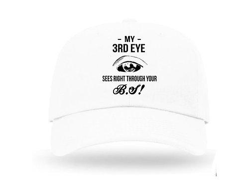 White Flex Hat Adjustable-BS