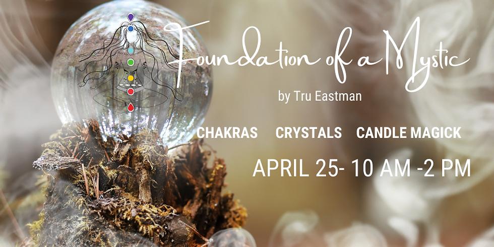 Chakras Crystals and Candle Magick