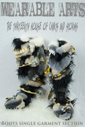 Poster made for the shearwater wearable arts