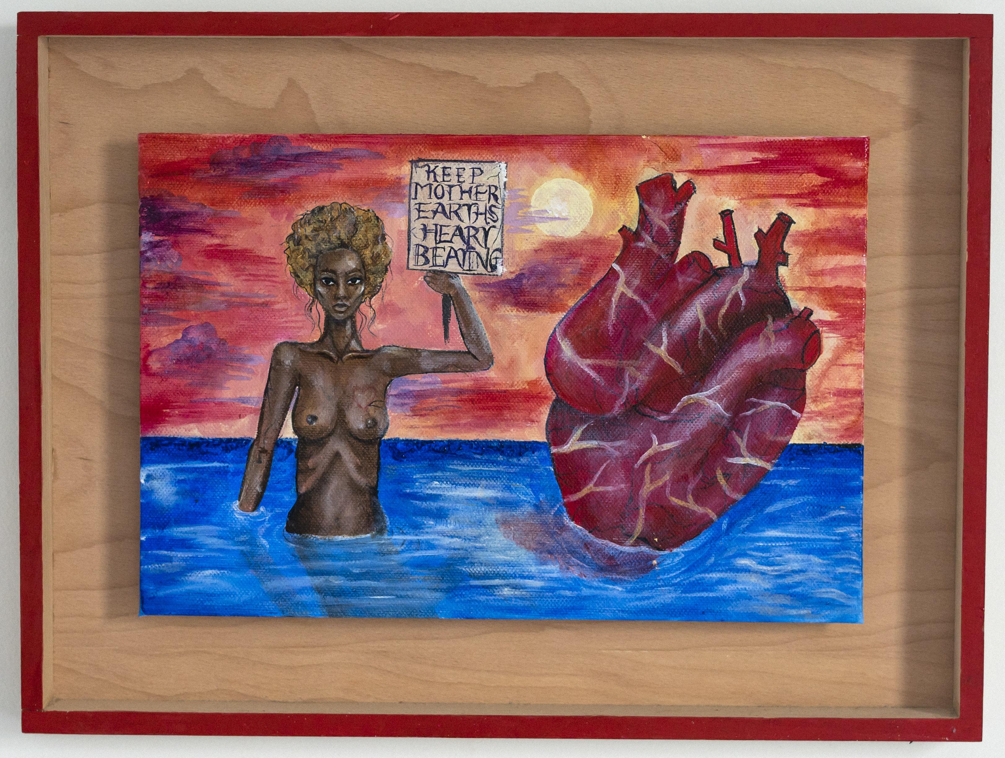 'Keep mother earths heart beating'