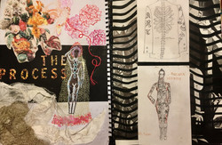 Visual design process diary 2018