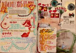 Visual design diary