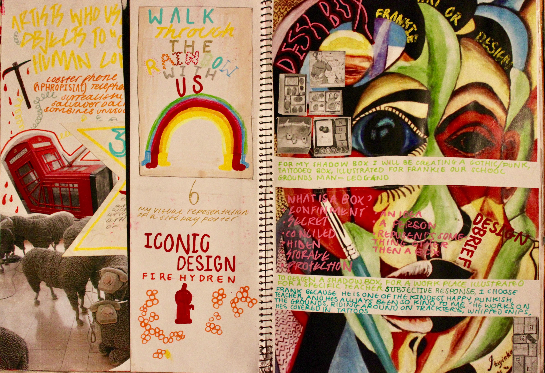 Visual deign diary