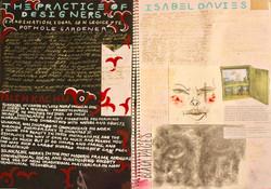 Visual design process diary