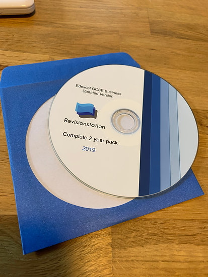 Revisionstation Edexcel GCSE Business complete two year teaching resources pack