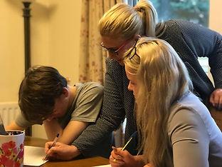 Sarah Hilton teaching