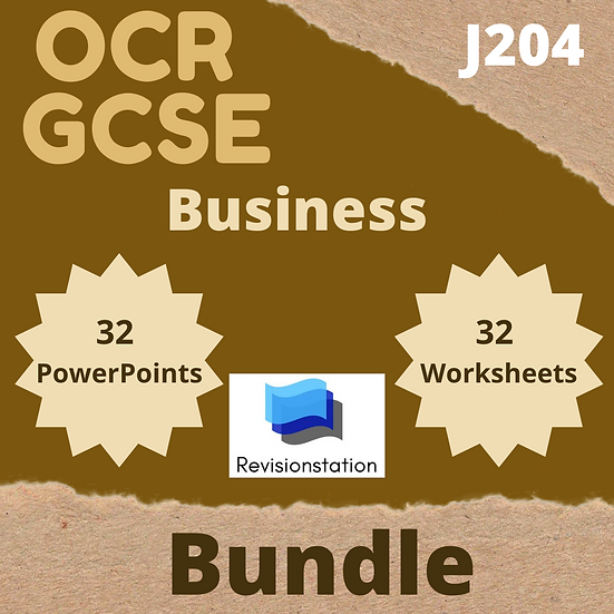 Revisionstation GCSE OCR Business teaching resources pack