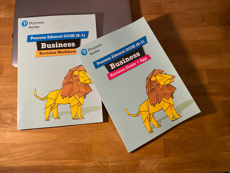 Book review: Pearson Edexcel GCSE (9-1) Business Revision Guide + App