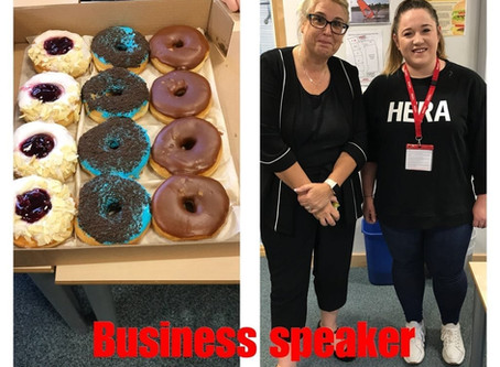Business speakers