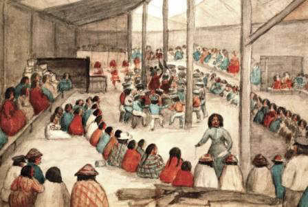 The Power of Potluck...and Potlatch.