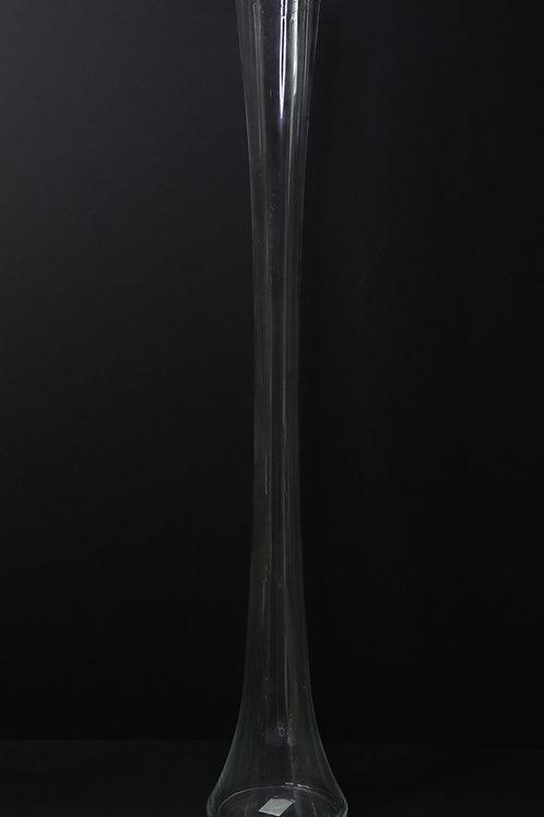 "28"" Glass Tower Vase"