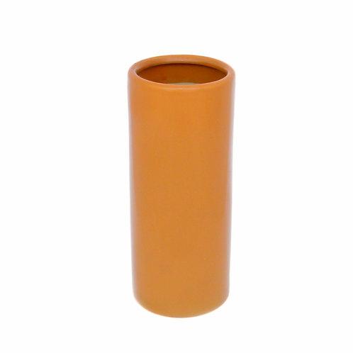 "Ceramic Cylinder Vase 5x12"""