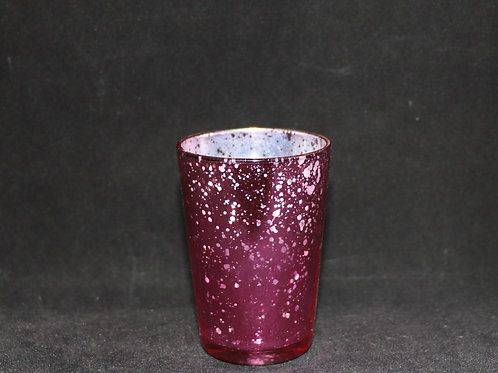 Glass Votive Candle Holder 2.5x3.3""