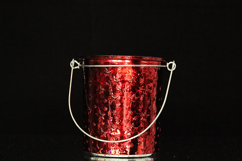 Starry Candle Holder w/handle