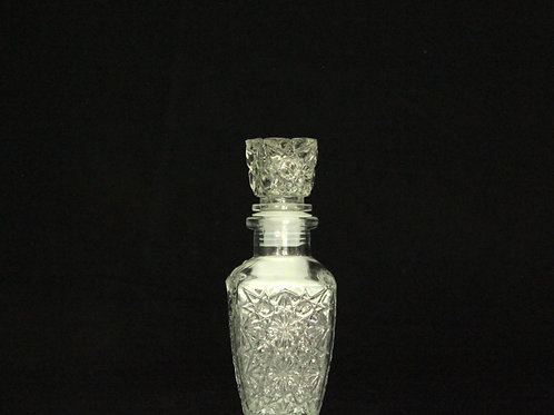 Vintage Glass Bottle with Stopper