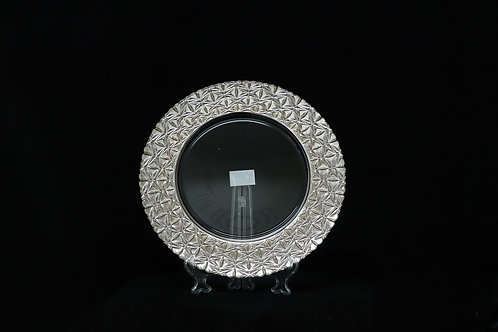 Silver Electroplated Charger Plate
