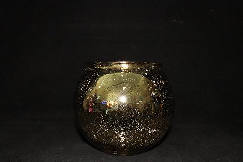 """4""""Machine made Gold Fishbowl"""