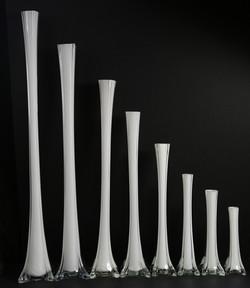 Glass Eiffel Tower Vase