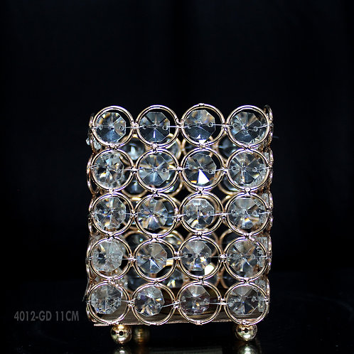 Beaded Square Candle Holder