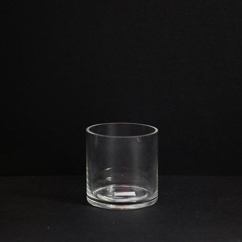 "4"" Opening Cylinder glass vase"