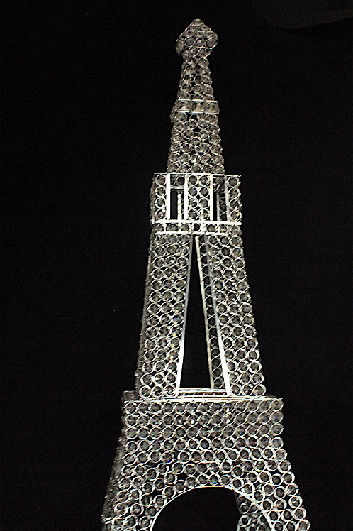 Paris Eiffel Tower with Crystals