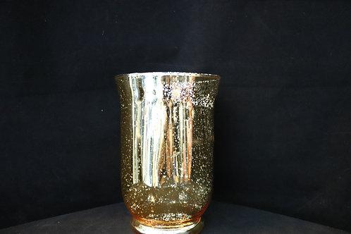 "8"" Hurricane Glass Vase"