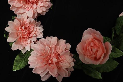 Mix Flower Garland - Blush