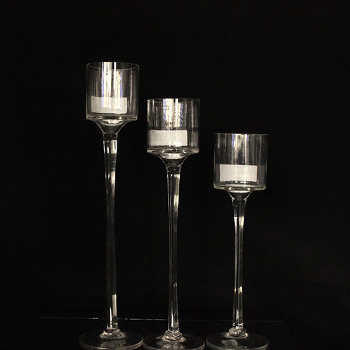 Clear Wedding Candle Holder 1103
