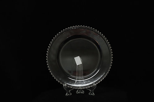 """Plastic Beaded Charger plate 13"""""""