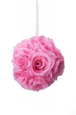 """Rose Kissing Ball 6"""""""