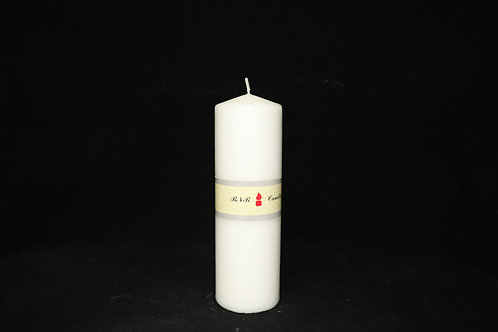 """2.5x8"""" Pillar Candle"""