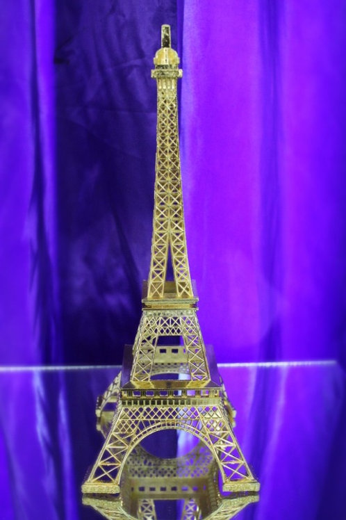 Gold Plated Eiffel Tower  12PCS