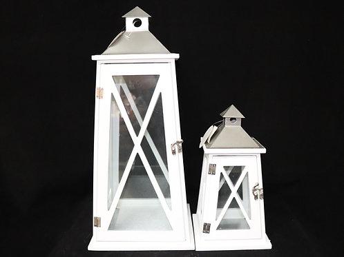 Vintage Wood Lantern