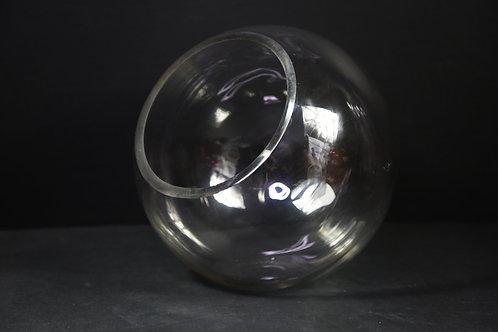 Angle Cut Bubble Vase