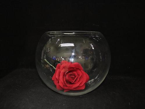"Fishbowl Glass Vase 20cm/8"""