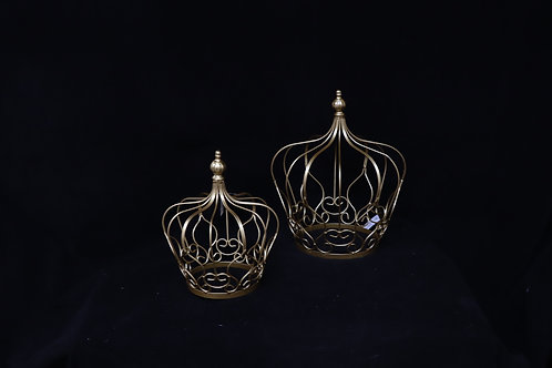 Gold Wire Crown King Centerpieces
